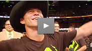 Watch as Donald Cerrone wins both Fight of the Night and Knockout of the Night, then soaks in the moment as he gets his hand raised in his hometown.