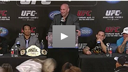 Watch the post-fight press conference with Dana White and the UFC 150 winners.