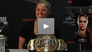 Watch highlights from the Strikeforce: Rousey vs. Kaufman post-fight press conference, featuring Ronda Rousey, Sarah Kaufman, Miesha Tate, and CEO Scott Coker.
