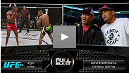 An all-access pass for UFC 150 following Benson Henderson; Dan Henderson & Forrest Griffin sound off on the Jones/Evans fight; Joe Rogan on the best veteran fighters in the UFC.