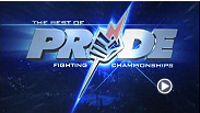 Kazushi Sakuraba vs Anthony Macias, Shinya Aoki vs Joachim Hansen, Tatsuya Kawajiri vs Charles Bennett, Hayato Sakurai vs Mac Danzig, Takanori Gomi vs Jens Pulver are featured in this episode of Best of Pride Fighting Championships.
