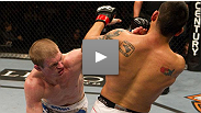 Evan Dunham nearly breaks former Ultimate Fighter winner Efrain Escudero&#39;s arm with a beautiful triangle-to-armbar sequence.
