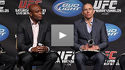 UFC President Dana White talks to UFC Tonight about the long-rumored superfight between UFC welterweight champion Georges St-Pierre and middleweight champion Anderson Silva.