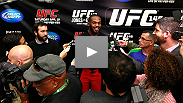 Listen to the  UFC 152 Conference with Dana White, Jon Jones, Vitor Belfort, Joseph Benavidez and Demetrious Johnson.