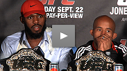 """I wanted to keep him guessing."" Hear what Jon Jones, Vitor Belfort, Demetrious Johnson, and Michael Bisping had to say during the UFC® 152 post-fight press conference."