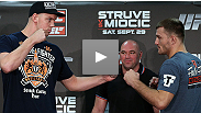 Watch the official pre-fight press conference for UFC: Struve vs. Miocic, from Nottingham, England.