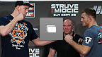 Galerie photos de la conférence de presse de l'UFC® on FUEL TV : Struve vs Miocic