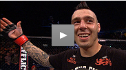 Oi oi!! Nottingham's own Dan Hardy discusses his emotional win - and improved ground attack - in front of a hometown crowd at UFC: Struve vs. Miocic.
