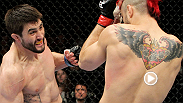 UFC interim welterweight champion Carlos Condit recounts his breakthrough performance: a knockout victory in front of a hostile crowd at UFC 120.