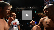 Watch as UFC legends Anderson Silva and Stephan Bonnar weigh in for their headlining bout at UFC 153.