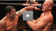 Get a rare look inside Minotauro Nogueira's locker room during his victory at UFC 153.