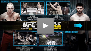 Watch 8 free fights by clicking on the video thumbnails and follow the journey of both Georges St-Pierre and Carlos Condit as they both earned their belts in the welterweight division.