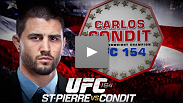 This November, choose the welterweight candidate who fights for what you stand for - Carlos Condit for UFC Welterweight Champion at UFC 154.