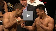 Watch the official weigh-ins for UFC Macao: Franklin vs. Le.