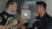 UFC Macao main eventers Rich Franklin and Cung Le talk about their excitement prior to the UFC's first event in China.