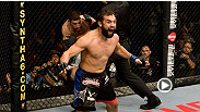 Going into his first UFC fight, Johny Hendricks was dealing with a series of injuries that almost forced him to withdraw from the contest.  Watch as Johny recounts his experience and how he made his mark inside the Octagon.