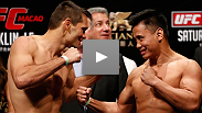 UFC Macao headliners Rich Franklin and Cung Le face off before a bout that could set one of them back on track to a another title.