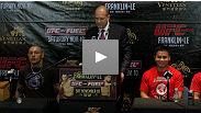 Hear from Cung Le, Thiago Silva, Dong Hyun Kim and more on their fights and what it meant to compete in China at the UFC on FUEL TV press conference.