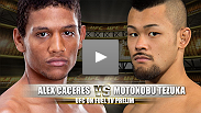 Motonobu Tezuka is a young veteran of the sport now getting his opportunity to compete in the Octagon, as he brings a three fight winning streak into his fight with former Ultimate Fighter star Alex Caceres.