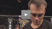 A disappointed Rich Franklin discusses his loss to Cung Le - and his fighting future - at UFC Macao.