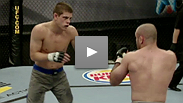 Manny Gamburyan's cousin and UFC® veteran Karo Parisyan almost gets into a fist fight with Nate Diaz and the first semi-final fight takes place with the winner moving one step closer to becoming the next Ultimate Fighter.