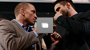 UFC 154 pre-fight press conference at New City Gas on November 14, 2012 in Montreal, Quebec, Canada.  (Photos by Josh Hedges/Zuffa LLC/Zuffa LLC via Getty Images)