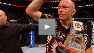 Hear from undisputed UFC welterweight champion Georges St-Pierre and Carlos Condit after their Fight of the Night at UFC 154.
