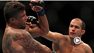 """Heavyweights finish fights"" - UFC champion Junior dos Santos talks about what he'll do differently in his rematch with Cain Velasquez, and what won't change one bit."