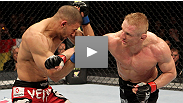 Kickboxer Dennis Siver uses his striking to set up an excellent submission against Andre Winner at UFC 122.