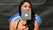 Go behind the scenes of UFC 360's photo shoot as UFC Octagon girl Arianny Celeste shows off why fitness is so important to her job.