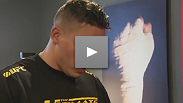 Pat Barry shares some wise words with Joey Rivera. Watch The Ultimate Fighter Fridays at 10ET/PT on FX with replays Sundays at 10ET/7PT on FUEL TV.