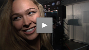 Ronda Rousey is crowned the first-ever UFC women&#39;s bantamweight champion. Hear what she had to say about the title, her expectations, and headlining UFC 157 in Anaheim.