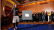 UFC on FOX open workouts on December 5, 2012  at the Grand Hyatt Seattle in Seattle, Washington.  (Photo by Josh Hedges/Zuffa LLC/Zuffa LLC via Getty Images)