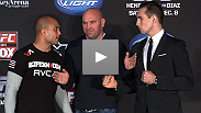 UFC on FOX 5 pre-fight press conference featuring a tense exchange between BJ Penn and Rory MacDonald.