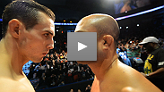 After months of trash talk, BJ Penn and Rory MacDonald come face-to-face at the UFC on FOX weigh-ins.
