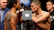 UFC® on FOX Henderson vs Diaz Weigh-In at the KeyArena in Seattle, WA on Friday, December 7, 2012. (Photos by Josh Hedges/Zuffa LLC/Zuffa LLC via Getty Images)