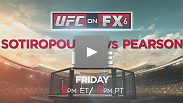 The UFC travels back to Australia on Friday, December 14th to determine the first winner of The Ultimate Fighter: The Smashes - Team Australia vs Team UK, as rivals George Sotiropoulos and Ross Pearson meet in a heated lightweight showdown.