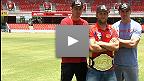 UFC on FX 6: UFC スター選手たちがオーストラリア・フットボールのルールを学ぶ