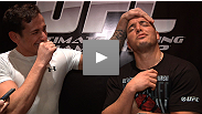 Heavyweight Pat Barry does impersonations of TUF 16 coach Shane Carwin and finalist Mike Ricci.