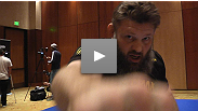 """If you poke the bear, sometimes you get bit."" Headliners and former castmates Matt Mitrione and Roy Nelson discuss their bout with media at the TUF 16 Finale open workouts."
