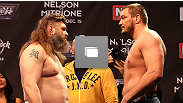 The Ultimate Fighter® Team Carwin vs Team Nelson Finale weigh-in at the Joint at the Hard Rock Hotel & Casino in Las Vegas, NV on Friday, December 14, 2012 (Photos by Jim Kempmer/Zuffa LLC/Getty Images via Zuffa LLC)