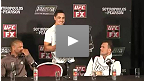 Conf&eacute;rence de presse d&#39;apr&egrave;s-combat de l&#39;UFC on FX 6