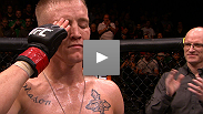 Colton Smith becomes The Ultimate Fighter 16 winner with a dominating performance against castmate Mike Ricci. Hear what the Army Ranger had to say in his heartfelt post-fight speech.