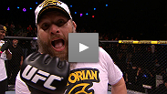 "Roy Nelson puts an emphatic end to an exciting night of fights, stopping fellow TUF alum Matt Mitrione in the first round of their headlining bout. Hear what ""Big Country"" had to say following the win."