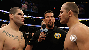 Junior dos Santos defends the UFC heavyweight title against he man the beat to get it, Cain Velasquez. Plus Joe Lauzon and Jim Miller meet in lightweight scrap guaranteed to be a barnburner. Watch UFC 155 live on pay-per-view.