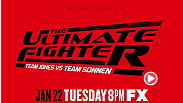 A new season, a new crop of fighters. Who&#39;s next? The Ultimate Fighter premieres Tuesday, January 22 at 8ET/PT on FX Networks.