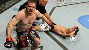 After surviving several submission attempts from Charles Oliveira, Jim Miller applies a kneebar that puts a quick end to their fight at UFC 124.