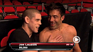 "Dana's First Vlog for UFC 155 introduces Nick ""the tooth"" a long time friend of Danas. Back at UFC on Fox 5, Nick had a few (too many) drinks one night and talked himself into a grappling match with Joe Lauzon."