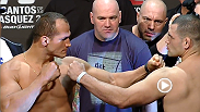 Watch the official weigh-in for UFC 155: Dos Santos vs. Velasquez II.