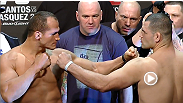 Watch the official weigh-in for UFC 155: Dos Santos vs. Velasquez II Friday, December 28 at 7pm ET/4pm PT.